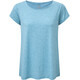 Sherpa Asha Shortsleeve Shirt Women blue